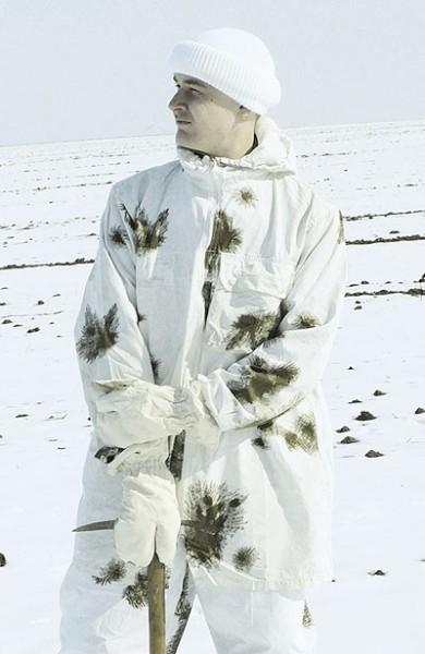 BW Schneetarnjacke Gebraucht