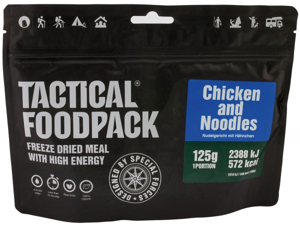 Tactical Foodpack - Nudelgericht mit Hähnchen