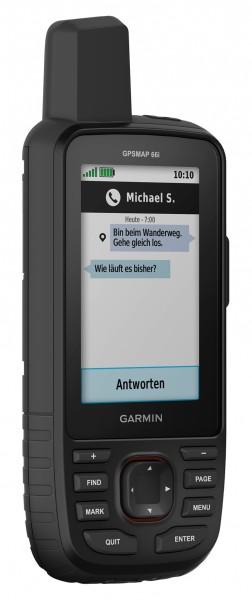 Garmin GPSMAP 66i GPS und Satellitenkommunikation