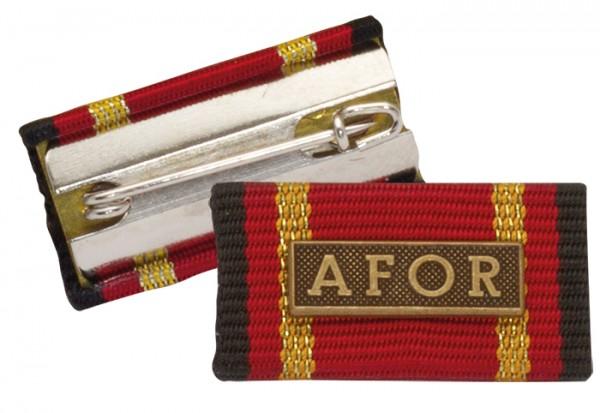 Bandschnalle Auslandseinsatz AFOR Bronze