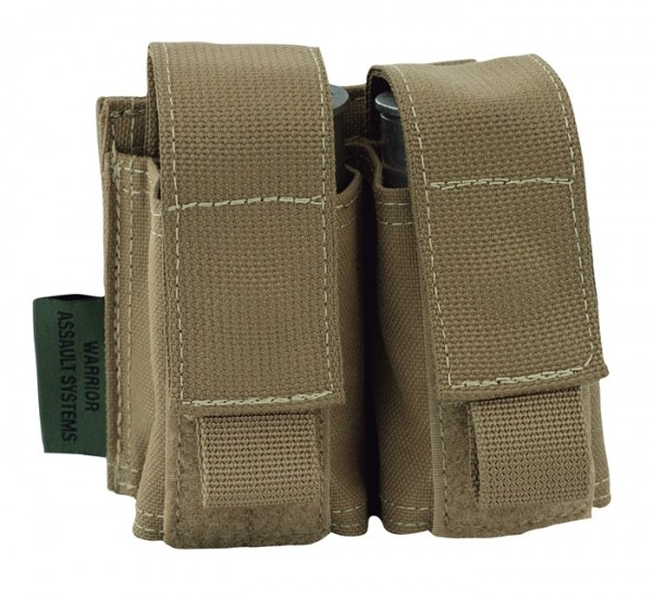 Warrior Double 40mm Pouch Coyote