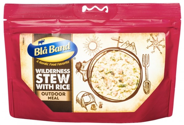 Blå Band Outdoor Meal - Wildnis Eintopf mit Reis