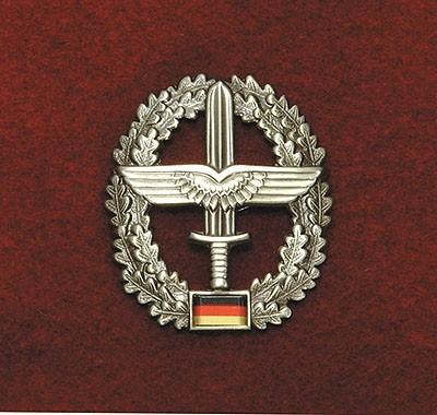 BW Barett Abzeichen Heeresfliegertruppe Metall