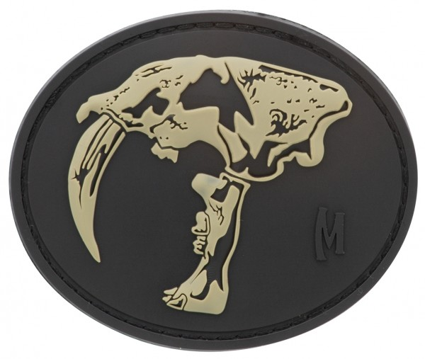 Maxpedition Rubber Patch SABERTOOTH SKULL Swat