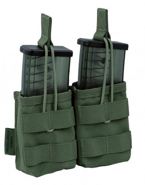 Warrior Double Open Mag Pouch G36 Oliv