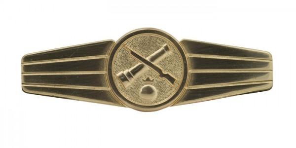 BW Tätigkeits-Abz.Rohrwaffenpersonal Gold
