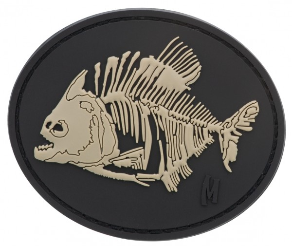 Maxpedition Rubber Patch PIRANHA BONES Swat