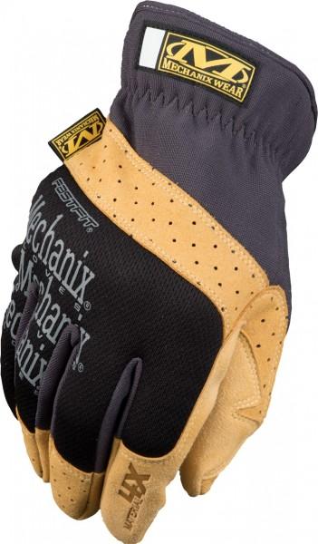 Mechanix Handschuh FastFit 4X Schwarz/Khaki