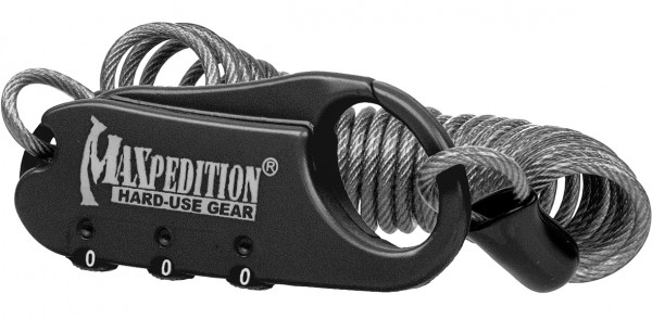 Maxpedition Steel Cable Lock - Zahlenschloss