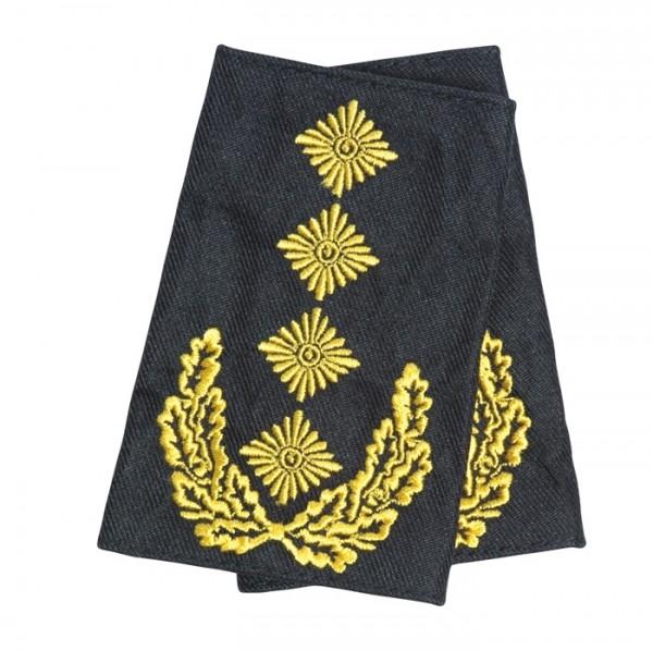 BW Rangschlaufe General Heer Schwarz/Gold
