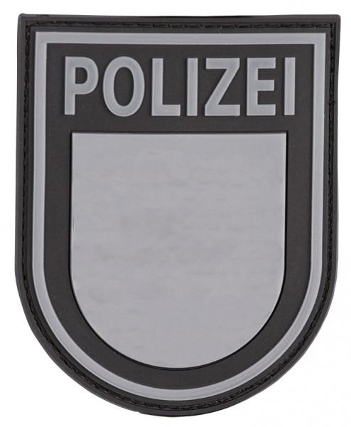 3D Ärmelabzeichen Polizei Sachsen (Blackops)