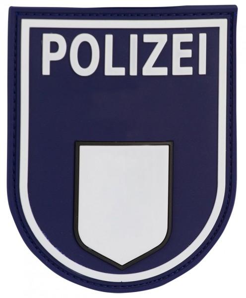 3D Ärmelabzeichen Polizei Berlin (Blau)