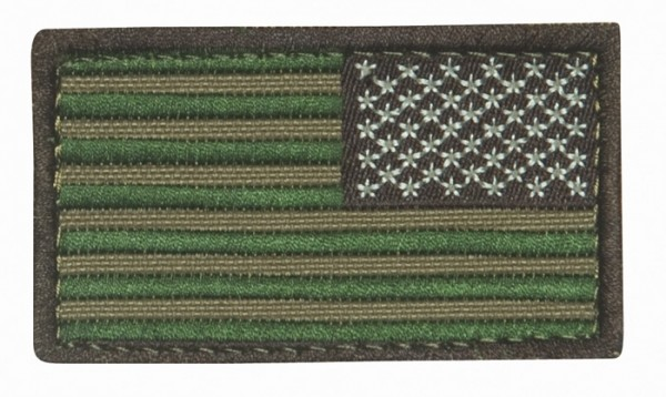 US Flagge Multicam Textil/Klett - Reverse