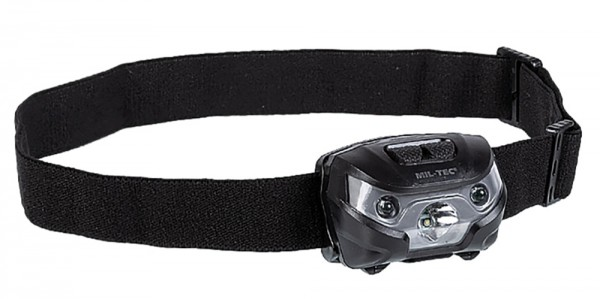 Mil-Tec Kopflampe CREE XPE 200 Lumen