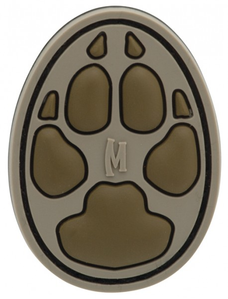 Maxpedition Rubber Patch DOG TRACK Arid
