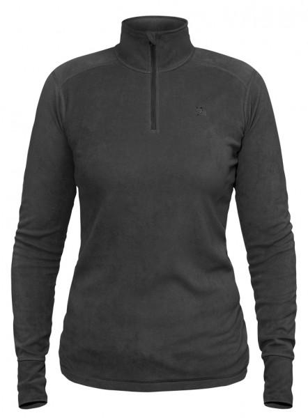 Damen Fjällräven Scare Half Zip Shirt Dark Grey
