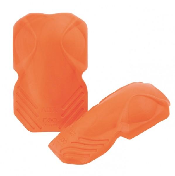 Alta Shockguard D30 Knieschutz Soft Orange