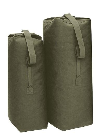 Seesack US Baumwolle Standard Oliv Medium