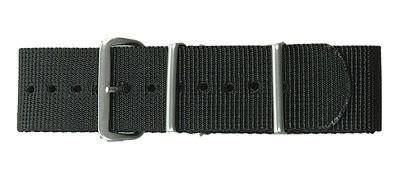 Traser H3 Uhrenarmband NATO Textil 22 mm Schwarz