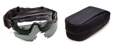 Smith Optics Goggle LOPRO BK Clear Grey Field Kit