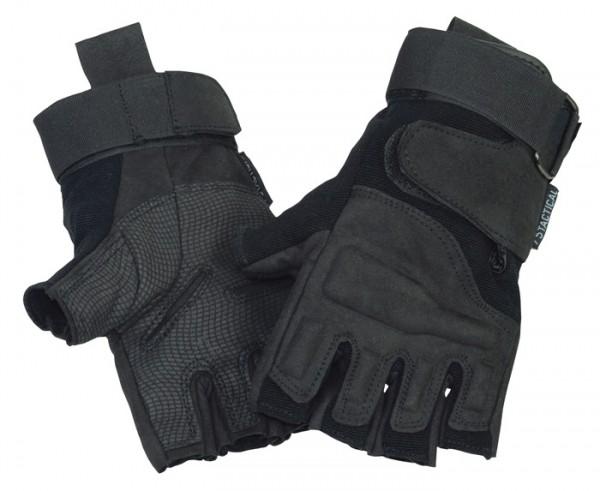 Halbfinger Handschuhe 75Tactical Taktik Schwarz