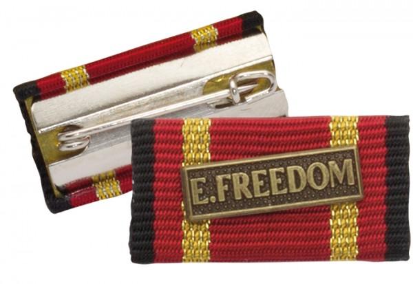Bandschnalle Auslandseinsatz ENDURING FREEDOM Bronze