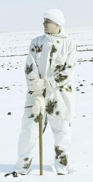 BW Schneetarnüberhose Gebraucht
