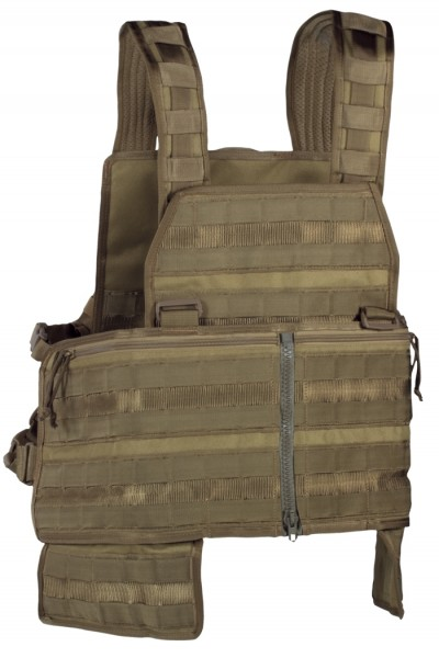 75Tactical Chest Rig Delta 2 Split Front Coyote