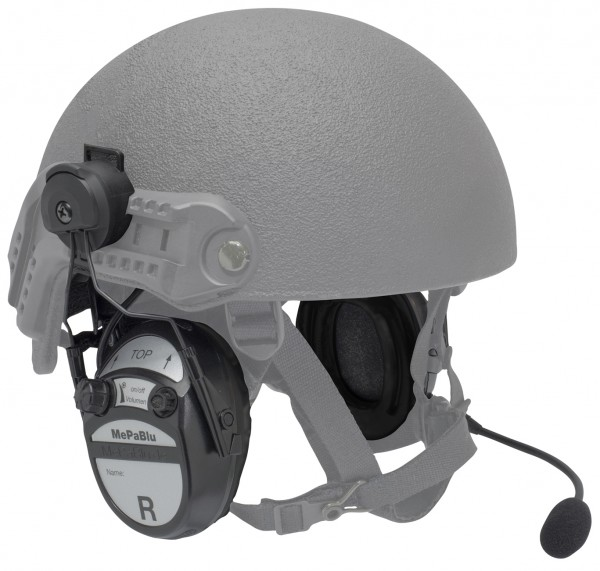 MePaBlu PROFI II MIL-K Standard mit Helmhalter