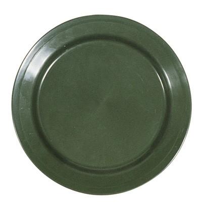 Polypropylene Teller Oliv Large/Flach