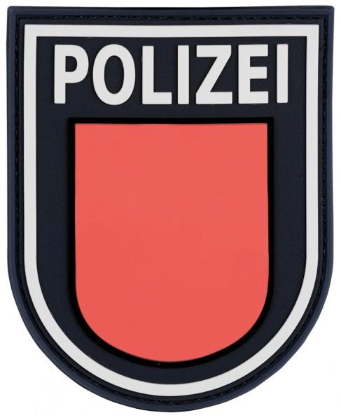 3D Ärmelabzeichen Polizei Hamburg (Schwarz)