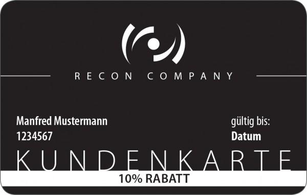 RECON Kundenkarte - für 1 Jahr 10%