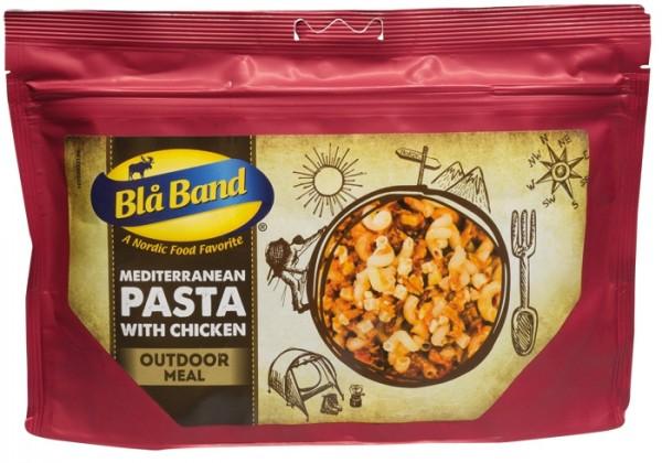 Blå Band Outdoor Meal - Mediterrane Pasta mit Hähnchen