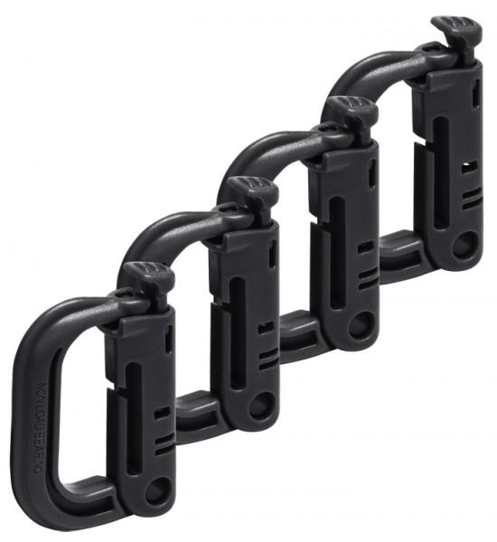 ABS D-Ringe 4er Pack