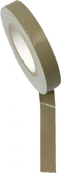 Gewebeklebeband Oliv 50m/Rolle 25 mm Br.
