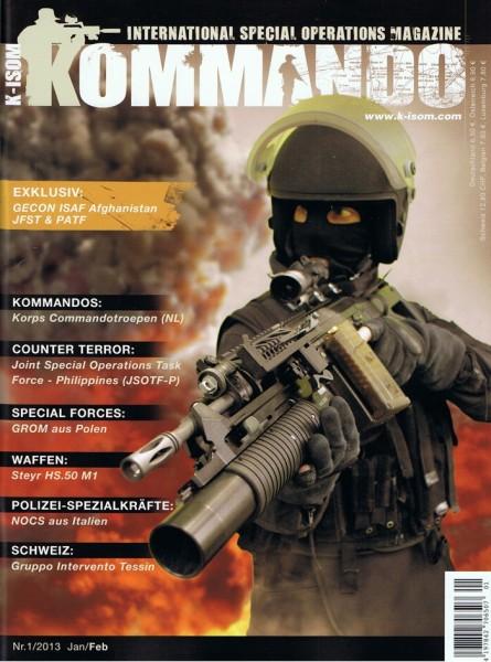 Kommando Magazin K-ISOM Ausgabe: 27 Nr.1/2013