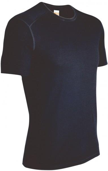 Icebreaker Oasis Crewe Short Sleeve 200 Black