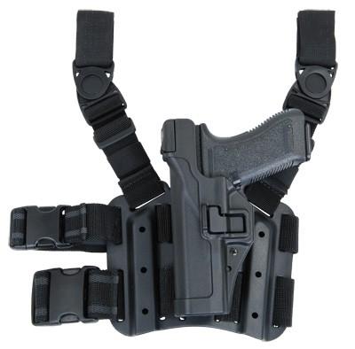BLACKHAWK Serpa Lev3 Tiefziehholster Glock -Links