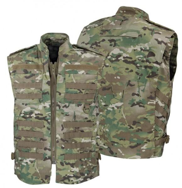 Einsatzweste Tactical Vest Recon DTC Multicamo