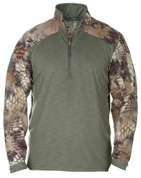 5.11 Rapid Half Zip Combat Shirt Kryptek