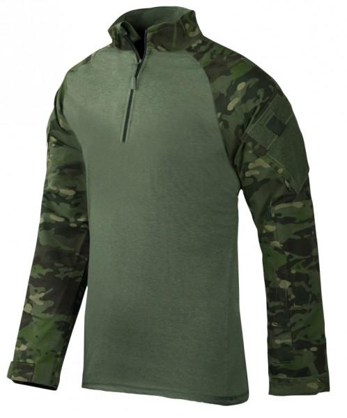 TRU-SPEC Combat Shirt 1/4 Zip Multicam Tropic