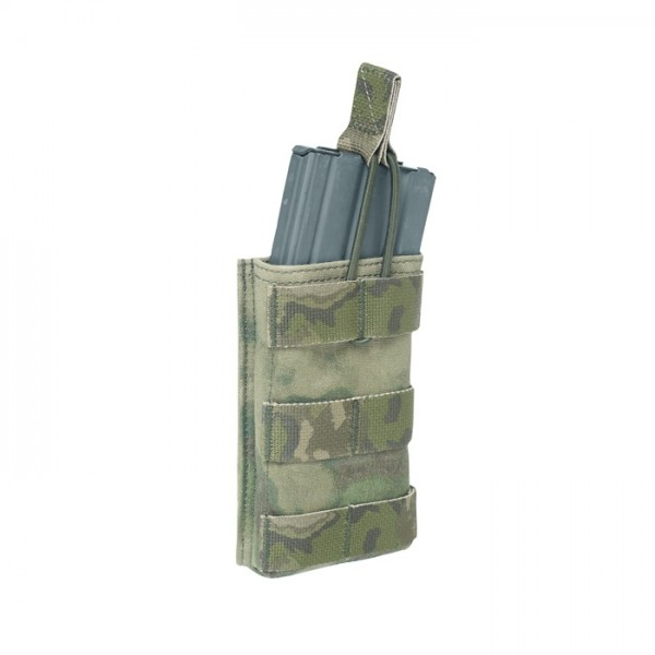 Warrior Single Open Mag Pouch A-TACS FG M4/AR15
