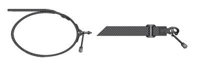 5.11 VTAC Long Range Cuff Schwarz