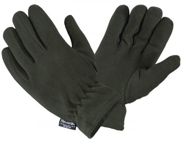 Thermo Handschuhe Fleece Thinsulate Oliv