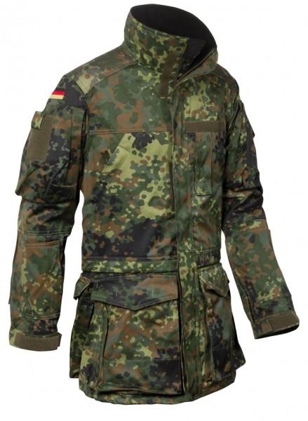 BW Einsatzkampfjacke Lang Flecktarn