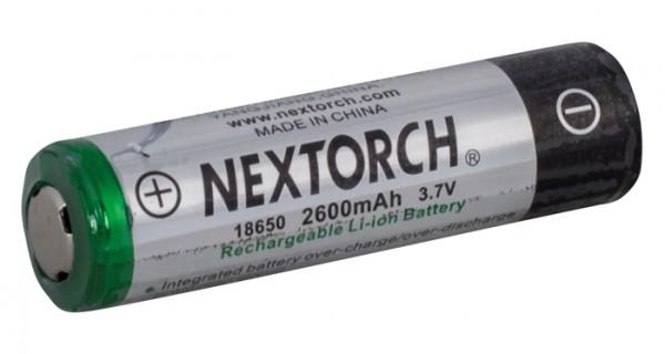 Nextorch Akku Lithium-Ion 3,7V 2600mAh