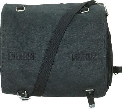 BW Packtasche Groß mit Gurt Schwarz