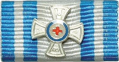 Bandschnalle Bayrisches Rotes Kreuz Silber