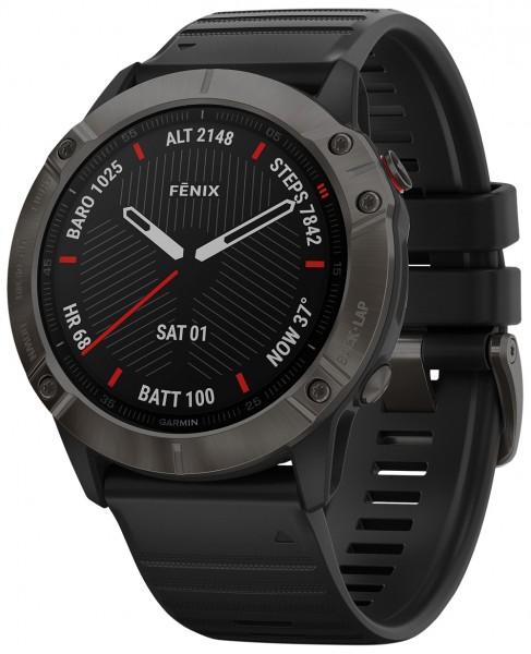 Garmin Fenix 6 Sapphire GPS Multisport Smartwatch
