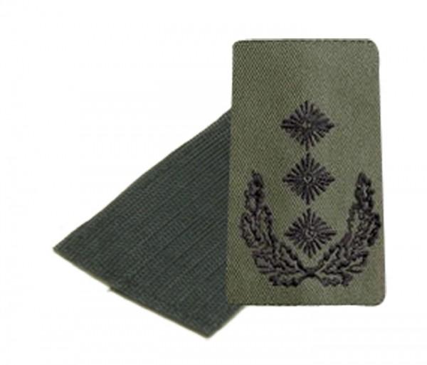 BW Rangschl. Oberst Heer Oliv/Schwarz Klett